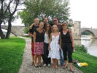 Le Pont d'Avignon by Silvia Summer 2008. French Classes in Provence