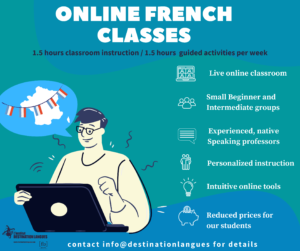 On line classes Destination Langues Marseille