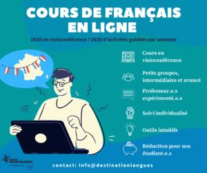 cours en ligne destination langues marseille